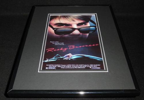 Risky Business Framed 11x14 Poster Display Tom Cruise