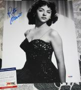 Rita Moreno signed 11 x 14, West Side Story, Exact Proof, PSA/DNA, Sweet & Sexy!