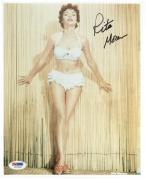 Rita Moreno Signed West Side Story 8x10 Photo Authentic Autograph Psa #u27256