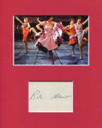 Rita Moreno West Side Story Oscar Winner Signed Autograph Photo Display