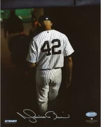 "Mariano Rivera New York Yankees Autographed Final Exit 8"" x 10"" Photograph"