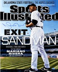 "Mariano Rivera New York Yankees Autographed Retirement SI Cover 16"" x 20"" Photograph"