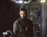 "Riz Ahmed Rogue One A Star Wars Story Autographed 8"" x 10"" Photograph - Beckett COA"