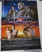 Rizin FF 1 2 B3 12/29 12/31 2015 Official Event Poster GP Fedor Emelianenko Rena
