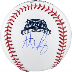 Anthony Rizzo Autographed Wrigley Field 100th Anniversary Baseball