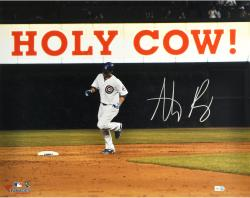 "Anthony Rizzo Chicago Cubs Autographed 16"" x 20"" Holy Cow Photograph"