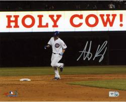 "Anthony Rizzo Chicago Cubs Autographed 8"" x 10"" Holy Cow Photograph"