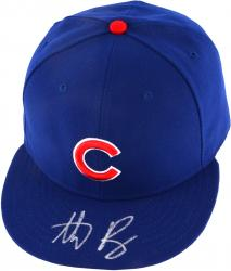 RIZZO, ANTHONY AUTO NEW ERA (CUBS/BLUE) AUTH (MLB) CAP - Mounted Memories