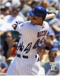 "Anthony Rizzo Chicago Cubs Autographed 8"" x 10"" Close-Up Photograph"