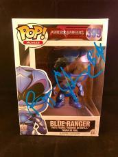 RJ Cyler Signed Funko Pop Figurine Billy Blue Power Rangers PSA DNA Cert #399