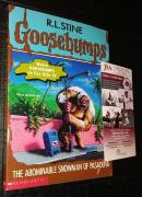 Rl Stine Goosebumps Signed Auto The Abominable Snowman Of Pasadena Book Jsa Coa