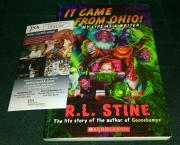 "Rl Stine Goosebumps Signed Autographed ""it Came From Ohio!"" Book Jsa Coa Rare"