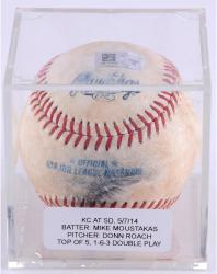 ROACH, DONN GAME USED (5/7/14 V SD) 1-6-3 DBL PLY BSBL (MLB) - Mounted Memories