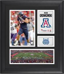 "Rob Gronkowski Arizona Wildcats Framed 15"" x 17"" Collage"
