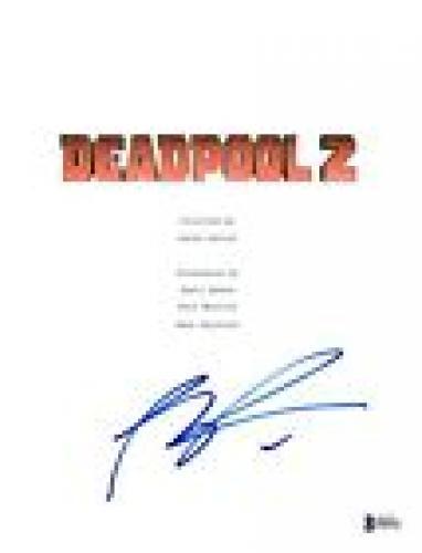 Rob Liefeld Signed Autographed DEADPOOL 2 Movie Script Cover Creator BAS COA