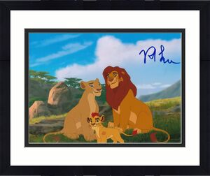 ROB LOWE signed (THE LION GUARD) 8X10 photo *SIMBA* LION KING Proof W/COA #2