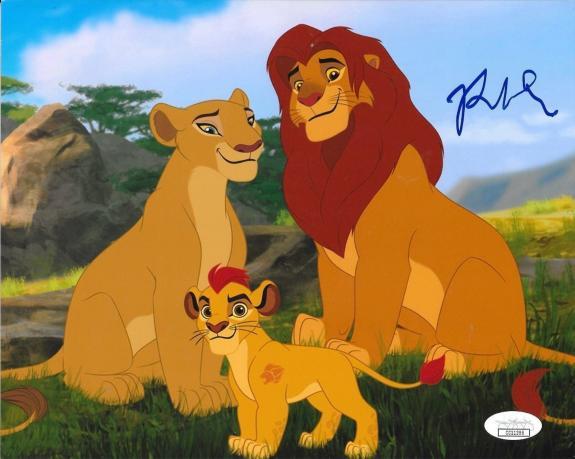 Rob Lowe signed The Lion Guard Simba 8x10 photo autographed Proof JSA