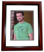 Rob McElhenney Signed - Autographed ITS ALWAYS SUNNY IN PHILADELPHIA 8x10 inch Photo MAHOGANY CUSTOM FRAME - Guaranteed to pass PSA or JSA