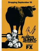 Rob Mcelhenney Signed Autographed 8x10 Photo It's Always Sunny in Philly COA VD