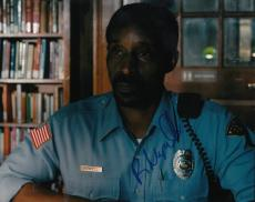 Rob Morgan signed Stranger Things TV Show 8x10 photo w/coa Officer Powell #1