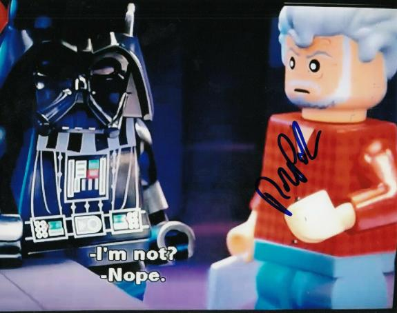 ROB PAULSEN signed (LEGO STAR WARS) 8X10 photo *GEORGE LUCAS* autographed W/COA