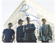 Rob Thomas Autographed Band Photo UACC RD PSA/DNA COA AFTAL