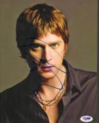 Rob Thomas Autographed Close Up Photo UACC RD PSA/DNA AFTAL