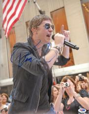 Rob Thomas Autographed Signed 11x14 Concert Photo PSA DNA AFTAL