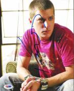 Rob Thomas Autographed Skull Shirt Photo UACC RD PSA/DNA AFTAL