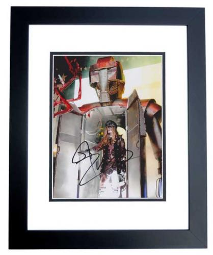 Rob Zombie Signed - Autographed 8x10 White Zombie Heavy Metal Singer Photo BLACK CUSTOM FRAME - Guaranteed to pass PSA or JSA