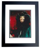 Rob Zombie Signed - Autographed White Zombie Heavy Metal Singer 8x10 inch Photo BLACK CUSTOM FRAME - Guaranteed to pass PSA or JSA