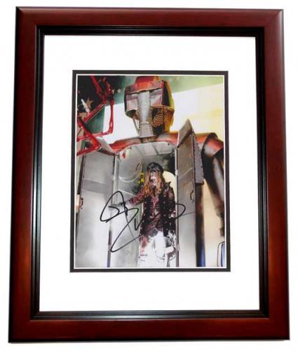 Rob Zombie Signed - Autographed 8x10 White Zombie Heavy Metal Singer Photo MAHOGANY CUSTOM FRAME - Guaranteed to pass PSA or JSA