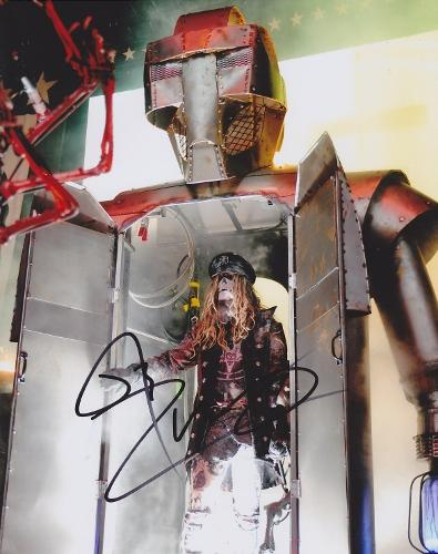 Rob Zombie Signed - Autographed 8x10 White Zombie Heavy Metal Singer Photo - Guaranteed to pass PSA or JSA