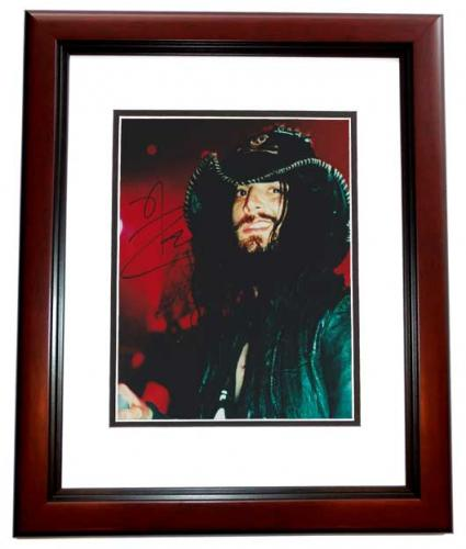 Rob Zombie Signed - Autographed White Zombie Heavy Metal Singer 8x10 inch Photo MAHOGANY CUSTOM FRAME - Guaranteed to pass PSA or JSA