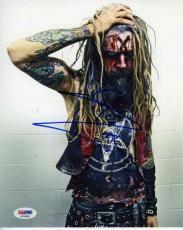 Rob Zombie Autographed Signed 8x10 Photo AFTAL PSA/DNA COA