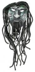 Rob Zombie, John 5, Piggy D & Tommy Clufetos Signed Ceramic Mask BAS #A89233