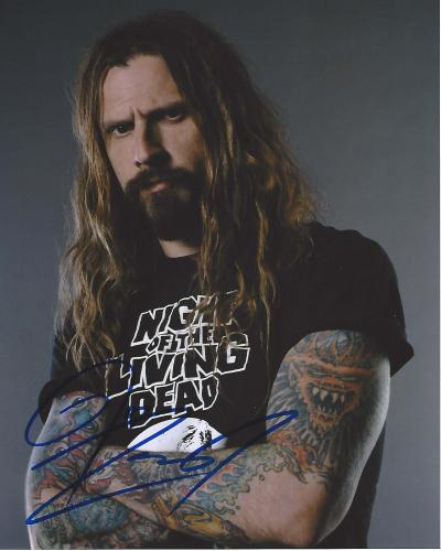 ROB ZOMBIE - MUSICAL/FILM DIRECTOR/SCREENWRITER - He Rose to Prominence as a Founding Member of the BAND WHITE ZOMBIE and Later Became a SOLO ARTIST - Signed 8x10 Color Photo