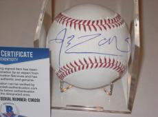 ROB ZOMBIE (Musician) Signed Official MLB Baseball w/ Beckett COA