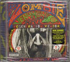 Rob Zombie New Un-Signed Venomous Rat Regeneration Vendor Cd AFTAL