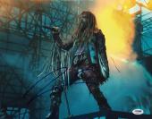 Rob Zombie Signed 11x14 Photo *Dragula *Living Dead Girl PSA AA84911