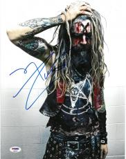 Rob Zombie Signed Musician/Director Autographed 11x14 Photo PSA/DNA #AB90999
