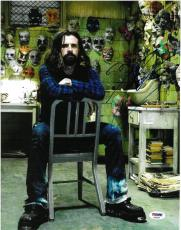 Rob Zombie Signed Musician/Director Autographed 11x14 Photo PSA/DNA #AB92524
