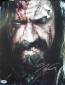 Rob Zombie Signed 'white Zombie' 11x14 Photo Authentic Autograph Psa/dna