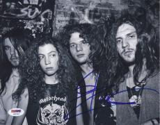 Rob Zombie Signed White Zombie 8x10 Photo Autograph Psa/dna Coa