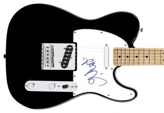 Robbie Krieger Autographed Signed Tele The Doors Guitar UACC RD AFTAL