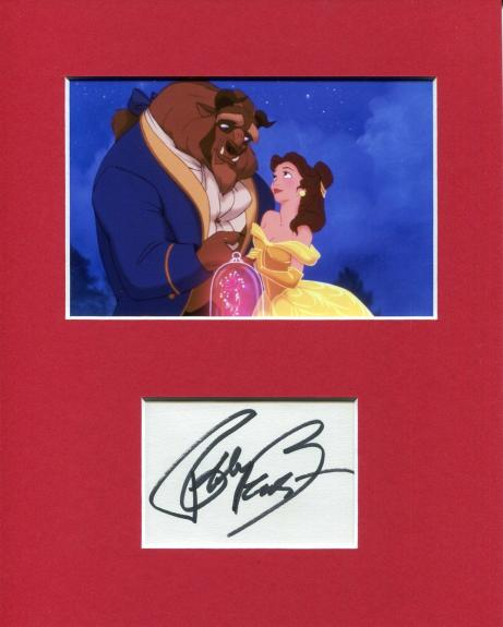 Robby Benson Beauty and the Beast Disney Voice Signed Autograph Photo Display