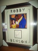 Robby Benson Beauty & The Beast Signed Autograph 16x24 Matted & Framed Jsa Coa A