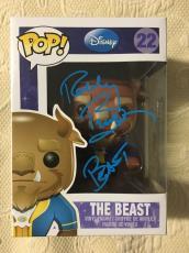 Robby Benson Signed Autographed Beast Funko Pop Beauty The Beast Beckett COA 1