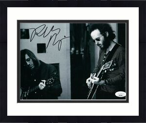 Robby Krieger Signed Autographed 8X10 Photo The Doors in Studio JSA HH37601