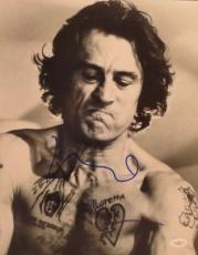 Rober Deniro Cape Fear Signed Authentic  11x14 Photo Jsa G86878